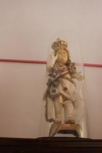 La campana di vetro con Gesù bambino