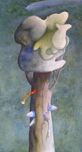 14. Silvano Braido. Albero pesci-nuvole