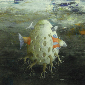 9. Silvano Braido. Uovo-pesce-radici