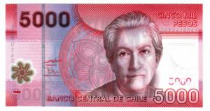 Banconota da 5000 pesos