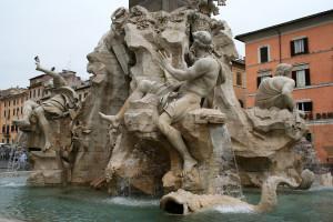 Bernini fontana quattro fiumi