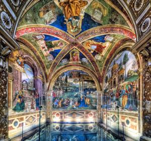 Cappella Baglioni di Spello by Pinturicchio
