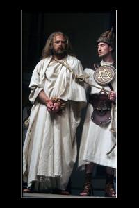 Gesù al cospetto di Caifa (foto di enzo di fazio)
