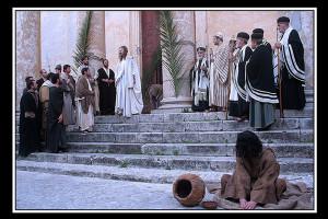 Gesù al tempio (foto di enzo di fazio)