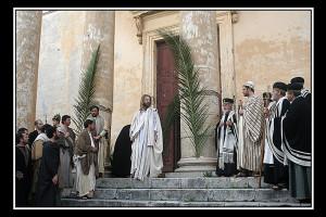 Gesù e i sacerdoti del tempio (foto di enzo di fazio)