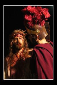 Gesù e il centurione (foto di enzo di fazio)
