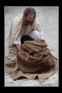Gesù e il cieco (foto di enzo di fazio)