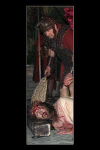 Gesù frustato (foto di enzo di fazio)