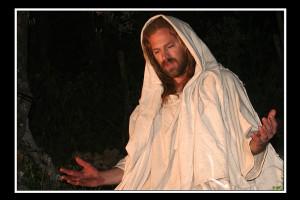 Gesù in preghiera (foto di enzo di fazio)