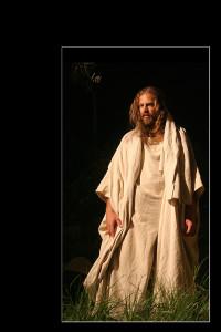 Gesù nell'orto degli ulivi (foto di enzo di fazio)