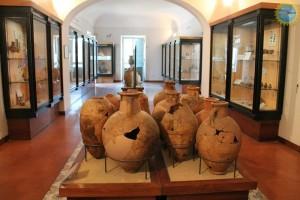 Il Museo Archeologico di Pithecusae di Villa Arbusto a Lacco Ameno sull'isola d'Ischia