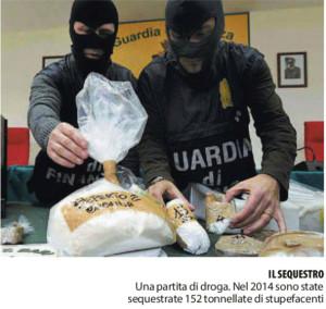 Il sequestro. Foto da Repubblica