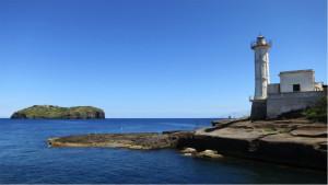 Isola di S. Stefano e il faro di Ventotene copia