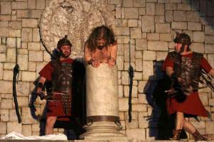 Passione di Cristo di Maenza. Flagellazione