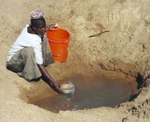Water source. Tanzania