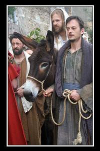ingresso a gerusalemme (foto di enzo di fazio)