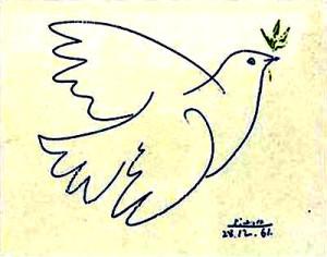 la colomba della pace di Picasso 2