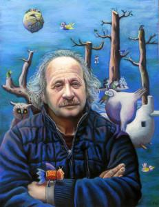 22. Silvano Braido. Self portrait