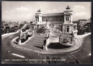 Altare della Patria con veduta Colosseo