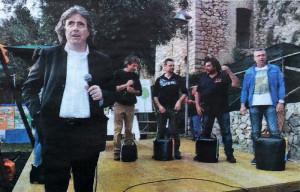 Ambrogio Sparagna a Maranola