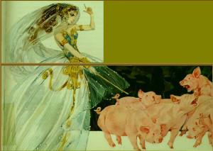 Circe & Pigs.