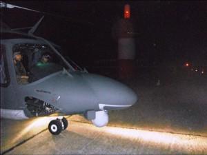 Foto 21 HH-139A atterra a Ponza VOR