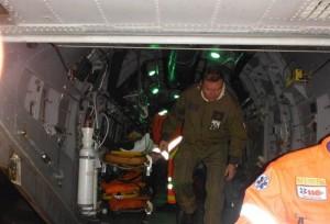 Foto 26 Una fase del soccorso