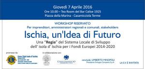 Invito workshop calise