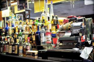 La cassa e il reparto liquori