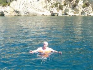 Maurizio in acqua