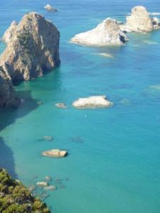 Ponza-turquoise-water. Faragl. di Lucia Rosa