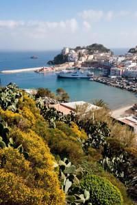 The port of Ponza
