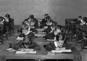 A scuola anni '60