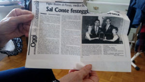 America Oggi Nov. 30. 2003. Sal Conte