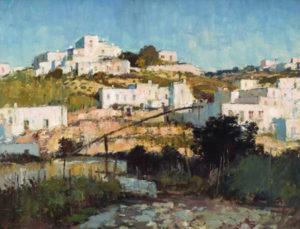 E. Seago. A Ponza landscape