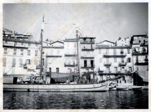 Il San Michele nel porto di Marsiglia