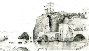 La torre. Antica stampa (Mattei)