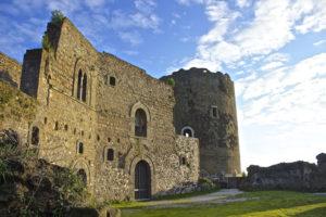 Le rovine del Castello di Casertavecchia