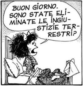 Mafalda. Buongiorno