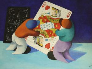 Mario Ortolani. I mischiatori di carte