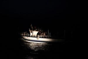 Migranti. Notte