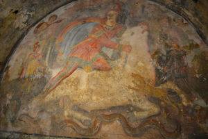 Mitreo di Santa_Maria_Capua_Vetere_Mithraeum_Tauroctony. II sec d.C.