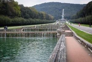 Parco della reggia-di-caserta. Il percorso principale