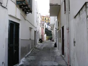 Ponza. Via Umberto