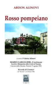 Rosso pompeiano. La copertina del libro