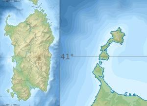 Sardegna. Asinara. Maps