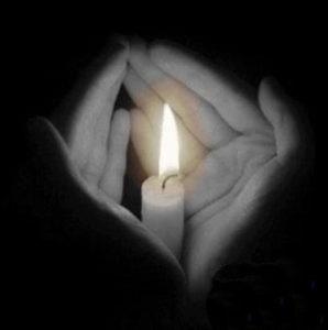 lutto-candela