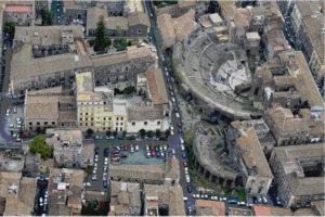 Catania. Teatro greco romano e Odeon