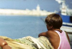 Essere bambini al mare