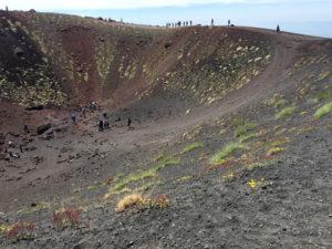 Etna. Il cratere Silvestri